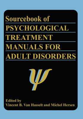 Sourcebook of Psychological Treatment Manuals for Adult Disorders image