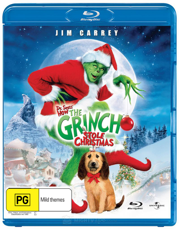 How The Grinch Stole Christmas on Blu-ray