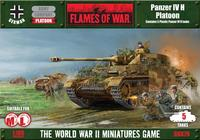 Flames of War - Panzer IVH Platoon