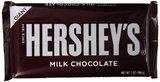 Hershey's Bar Giant Milk Chocolate - 198g