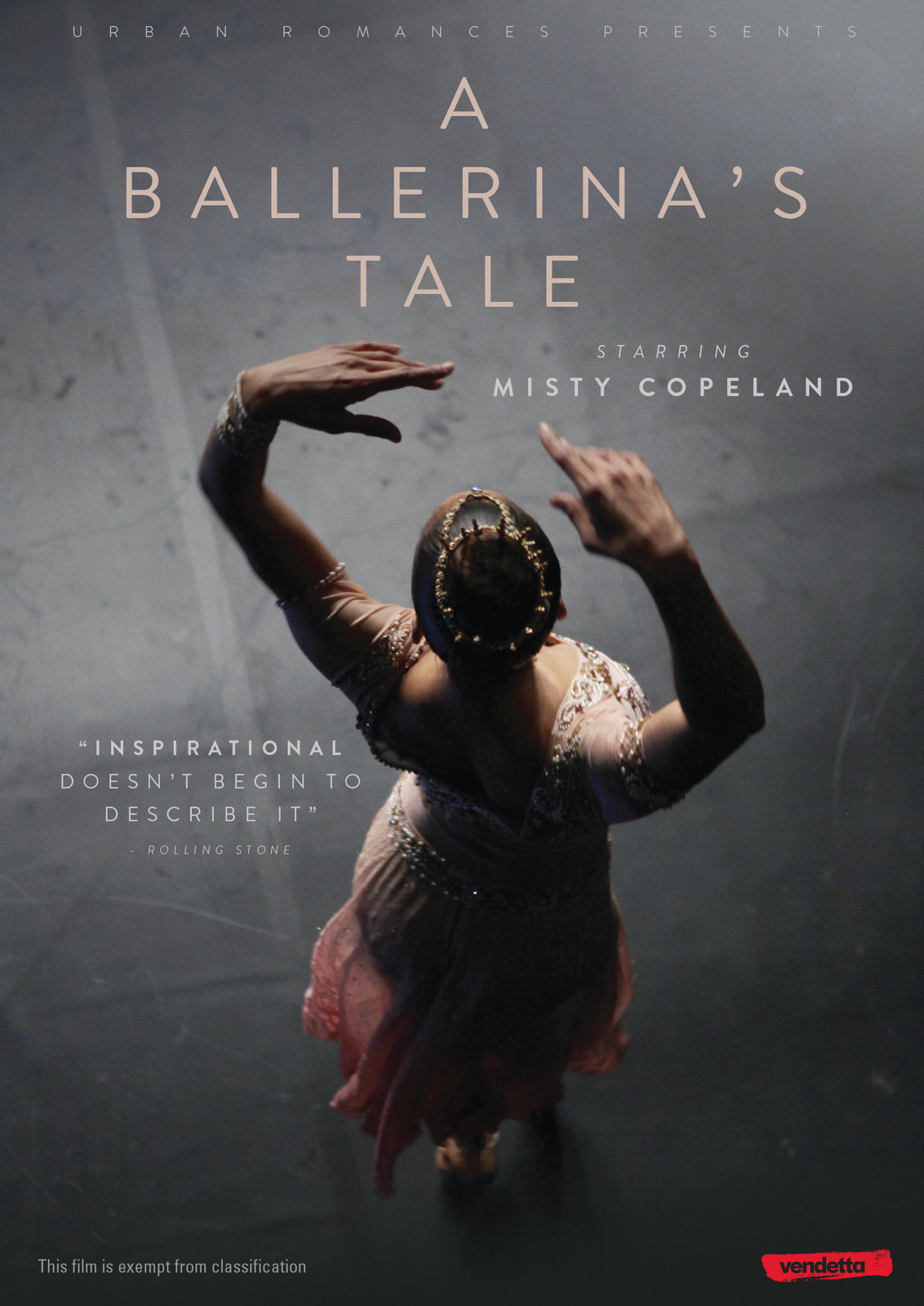 A Ballerina's Tale on DVD image