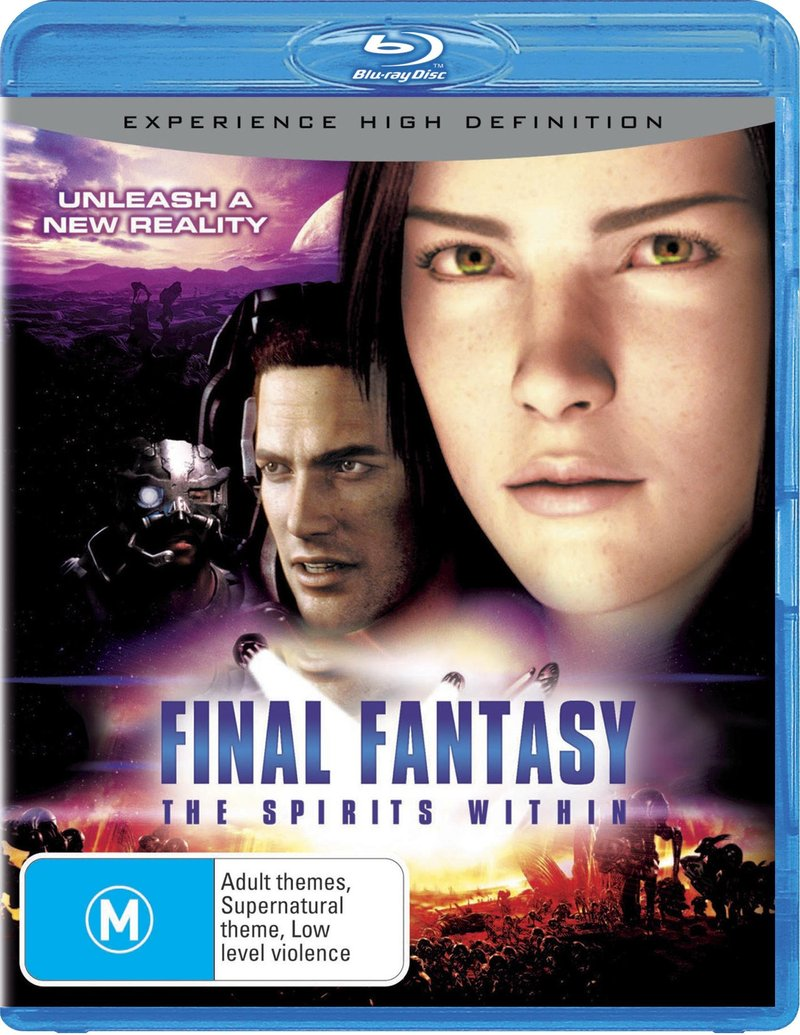 Final Fantasy - Spirits Within on Blu-ray image