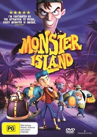 Monster Island (2017) on DVD