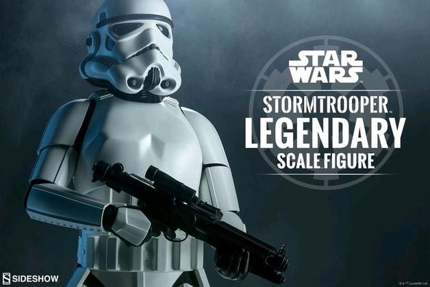 Star Wars: Stormtrooper - 1:2 Scale Legendary Statue