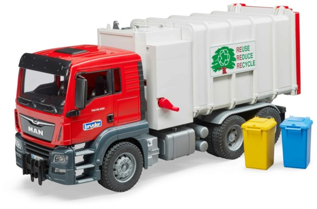 Bruder: MAN Garbage Truck - Side Loading