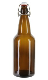 Mangrove Jack's: Amber Flip-Top Bottles (12 x 750ml)