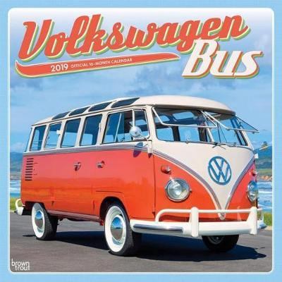 Volkswagen Bus 2019 Square Wall Calendar by Inc Browntrout Publishers image