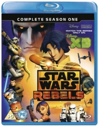 Star Wars Rebels - The Complete Season One on Blu-ray