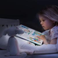 Zazu: FIN 2.0 Reading Light - Grey