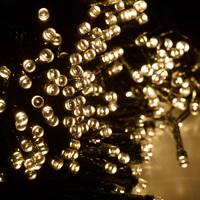 Solar String Lights - 400 LED Warm White Fairy Lights image