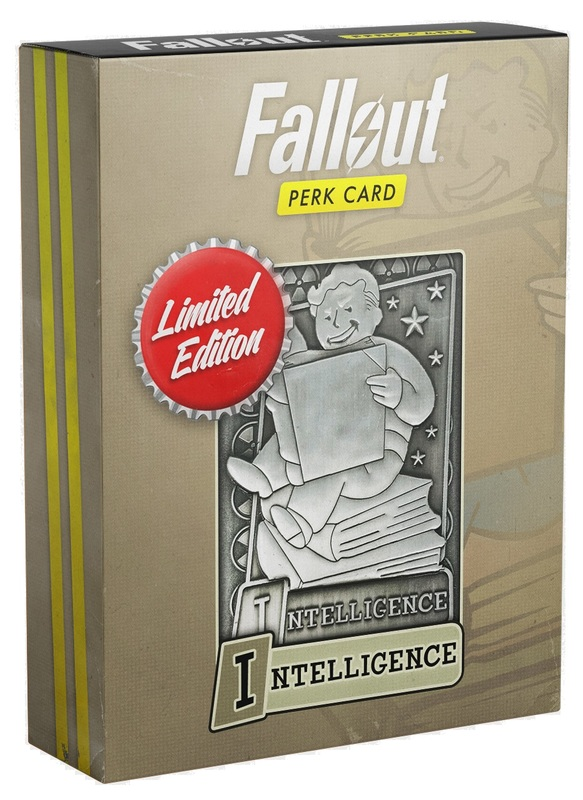 Fallout: Replica Perk Card - Intelligence