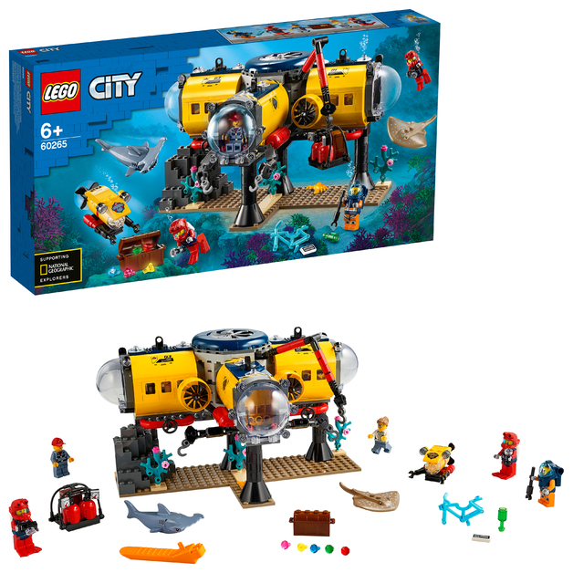 LEGO City: Ocean Exploration Base - (60265)