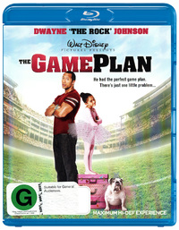 The Game Plan on Blu-ray