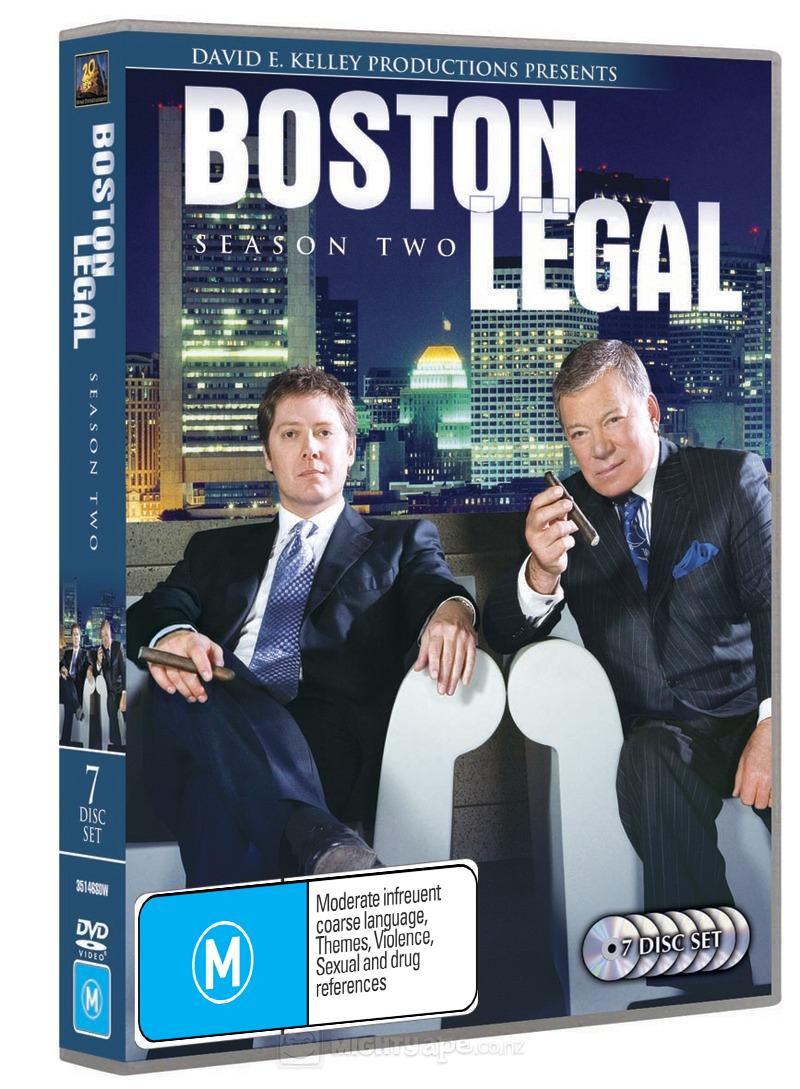 Boston Legal - Season 2 (7 Disc Set) on DVD image