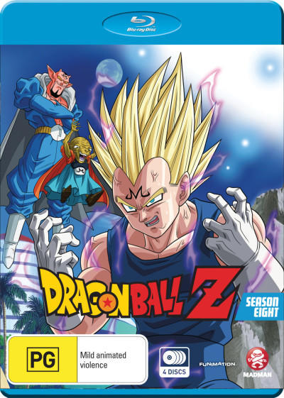 Dragon Ball Z - Season 8 on Blu-ray
