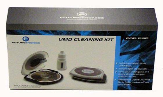 Futuretronics Cleaning Kit for PSP image