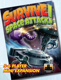 Survive Space Attack 5 6 Player Mini Expansion