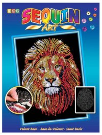 Sequin Art - Lion