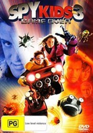 Spy Kids 3 - Game Over on DVD