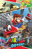 Super Mario: Odyssey Collage - Maxi Poster (676)