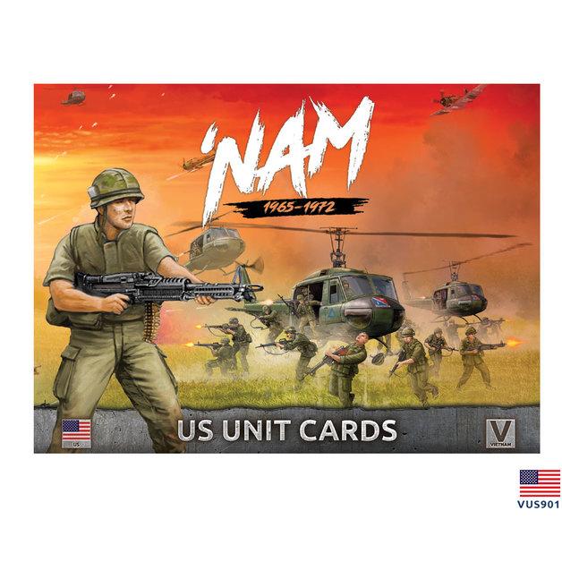'Nam Unit Cards: US Forces