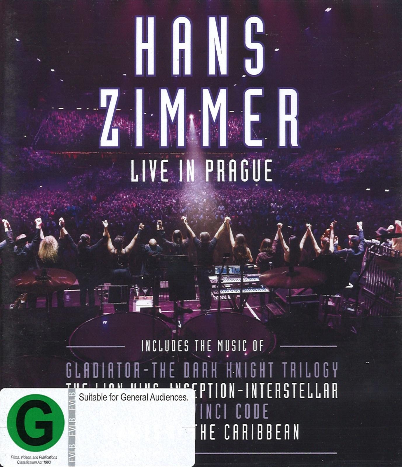 Hans Zimmer: Live in Prague on Blu-ray image