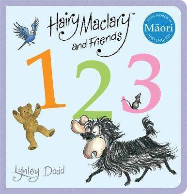 Hairy Maclary and Friends: 123 in Maori and English by Lynley Dodd image