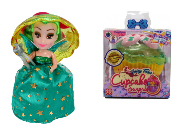 Cupcake Surprise: Fairytales - Scented Doll (Blind Box)