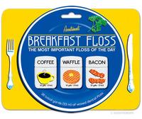 Breakfast Floss - Bacon, Waffle & Coffee Dental Floss image