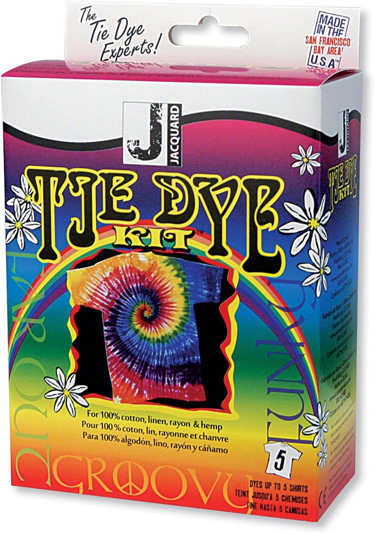Jacquard: Tie Dye Kit Funky Groovy image