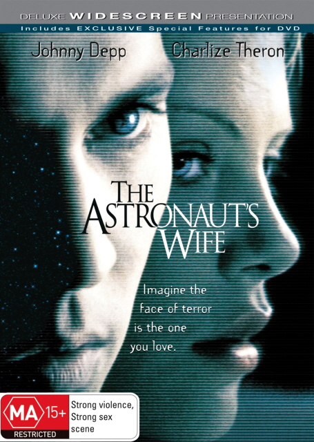 The Astronaut's Wife on DVD image