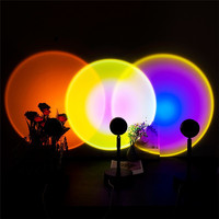 Red Sunset Atmosphere - Projector Lamp/Led Night Light