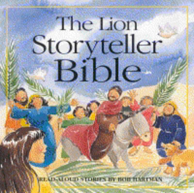 The Lion Storyteller Bible by Bob Hartman image