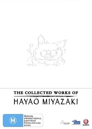 The Collected Works of Hayao Miyazaki Box Set on DVD image