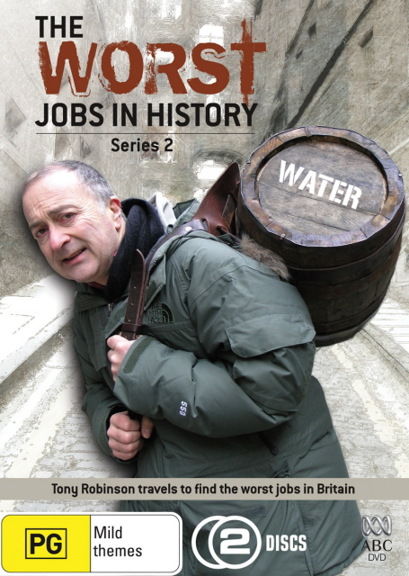 Worst Jobs In History, The - Series 2 (2 Disc Set) on DVD image