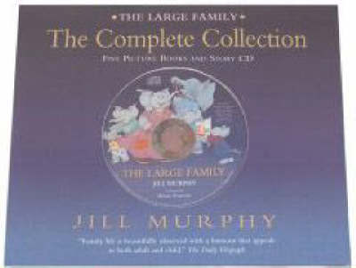 Large Family Complete Collection + Dvd by Jill Murphy