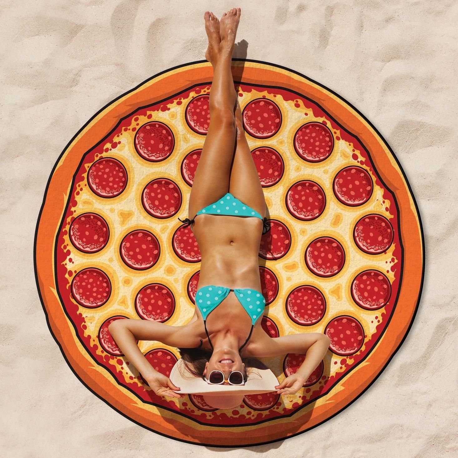 Gigantic Pizza Towel image