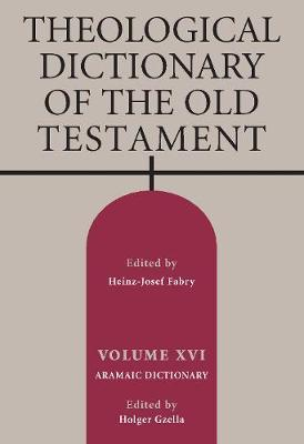 Theological Dictionary of the Old Testament, Volume XVI image
