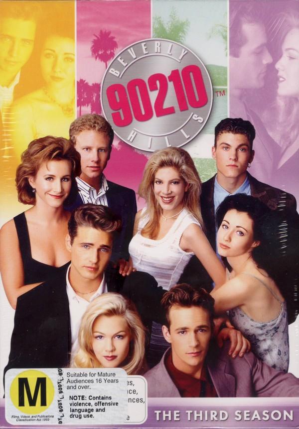 Beverly Hills 90210 - Season 3 (8 Disc Box Set) on DVD image