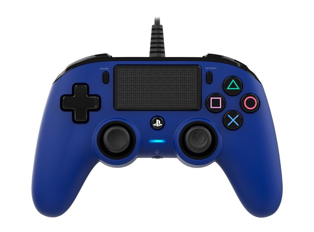 Nacon PS4 Wired Gaming Controller - Blue for PS4