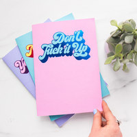 Life's A Drag Notebook Trio