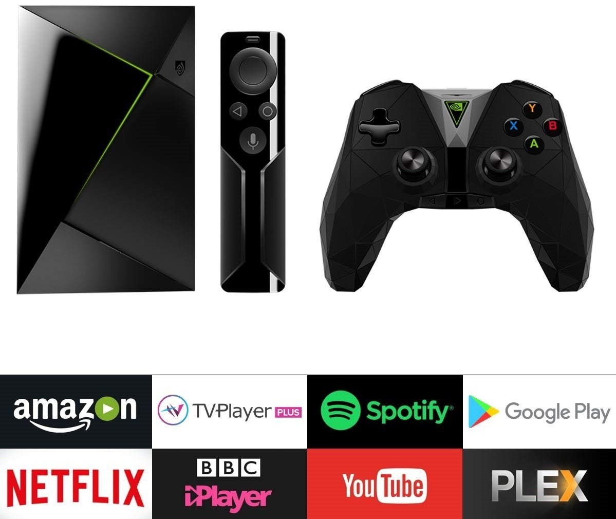 NVIDIA Shield with Remote and Controller image