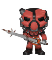 Fallout 76 - X-01 Power Armour (Red) Pop! Vinyl Figure image
