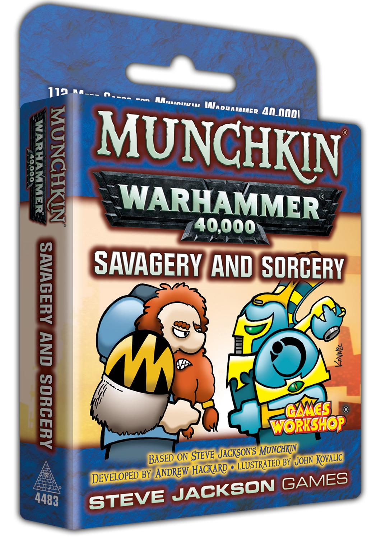 Munchkin: Warhammer 40,000 - Savagery & Sorcery Expansion image
