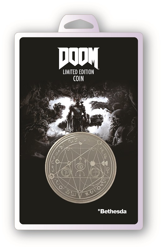 Doom: Collectable Coin - 25th Anniversary image