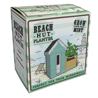 Beach Hut Planter Gift Set image