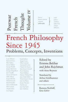 French Philosophy Since 1945 image
