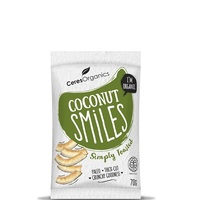 Ceres Organics Coconut Smiles (Simply Toasted, 70g)