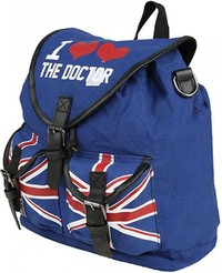 Dr Who: I Heart The Doctor Knapsack