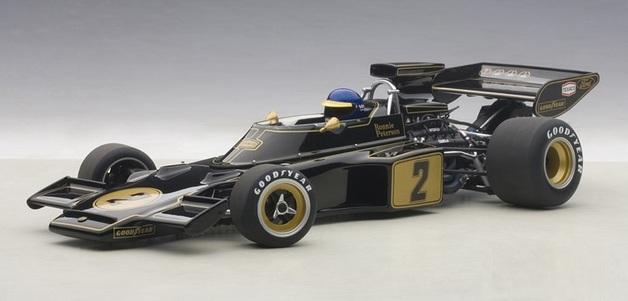 Autoart: 1/18 Lotus 72E 1973 Ronnie Peterson #2 - Diecast Model